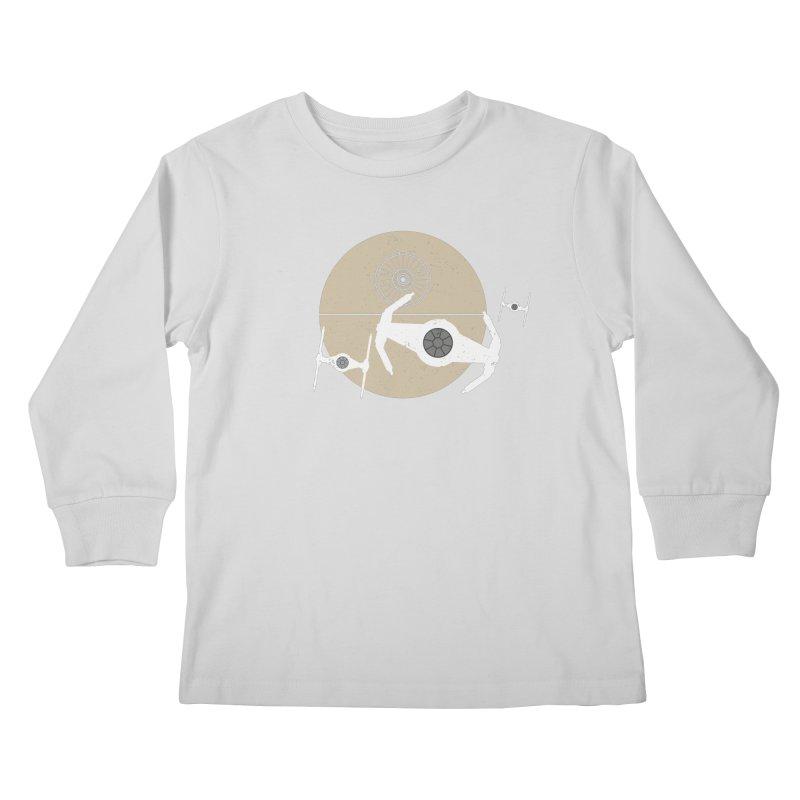 On the Leader Kids Longsleeve T-Shirt by nrdshirt's Shop