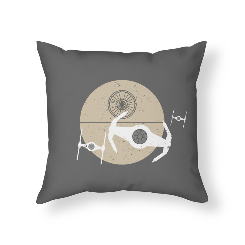 On the Leader Home Throw Pillow by nrdshirt's Shop