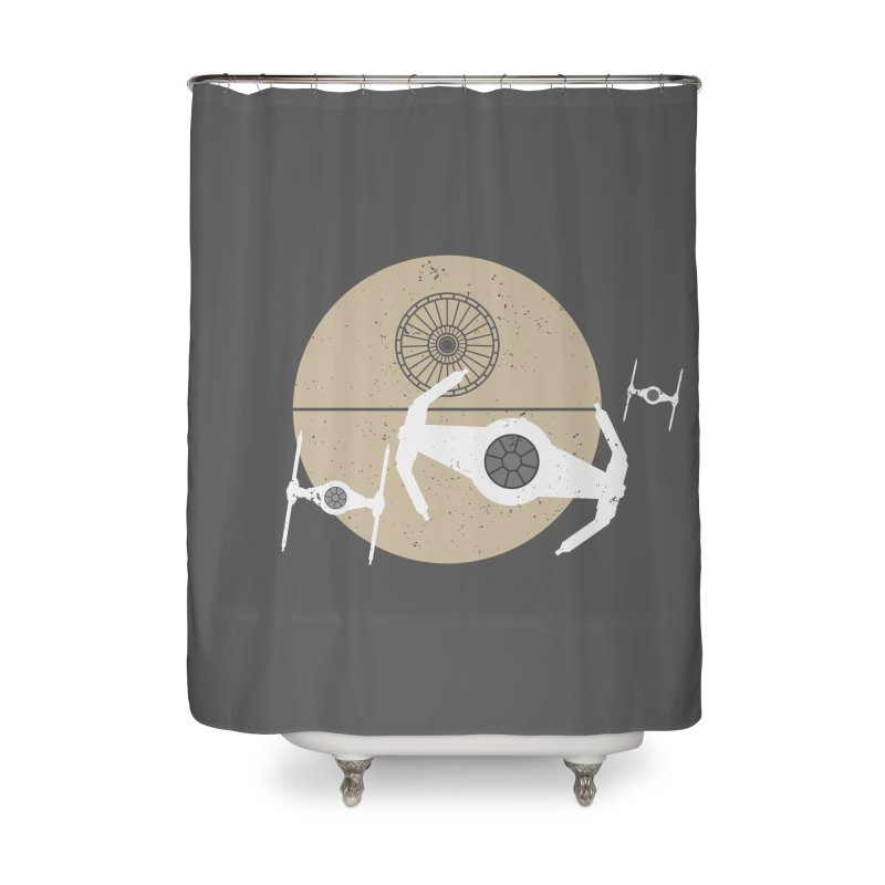 On the Leader Home Shower Curtain by nrdshirt's Shop