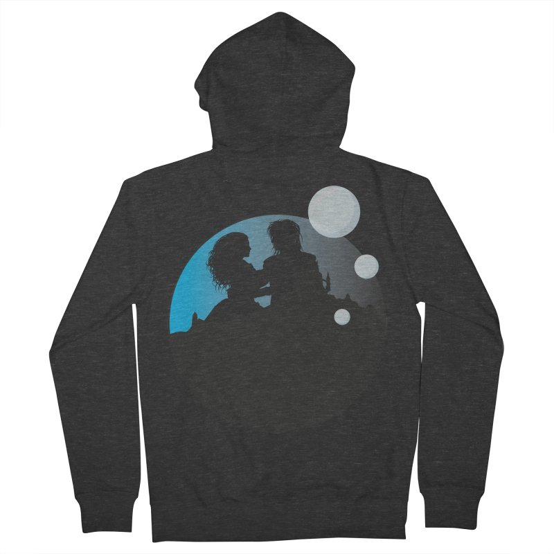 Labyrinth Men's French Terry Zip-Up Hoody by nrdshirt's Shop