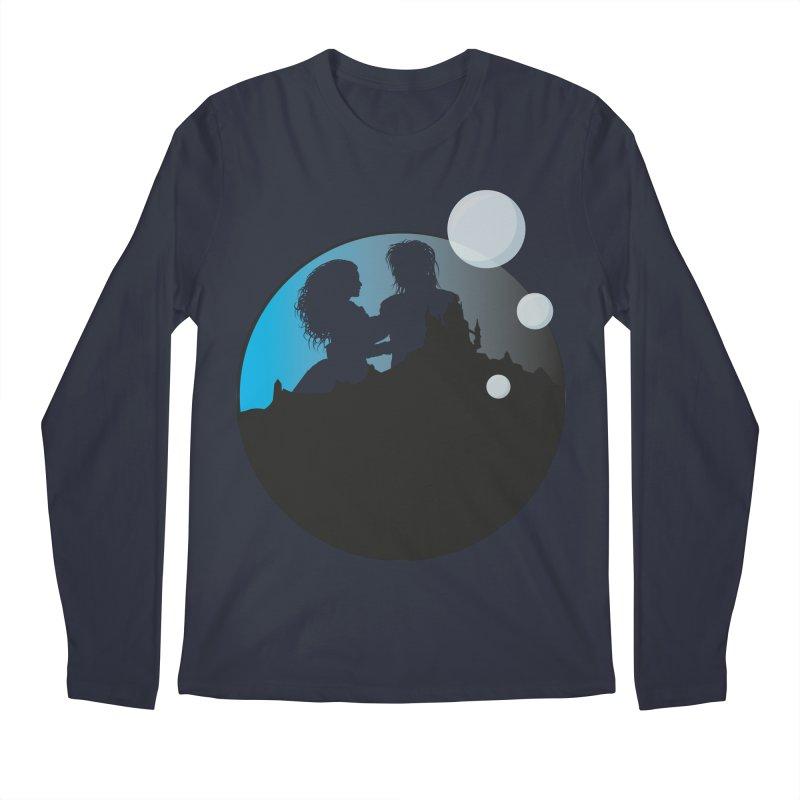Labyrinth Men's Longsleeve T-Shirt by nrdshirt's Shop