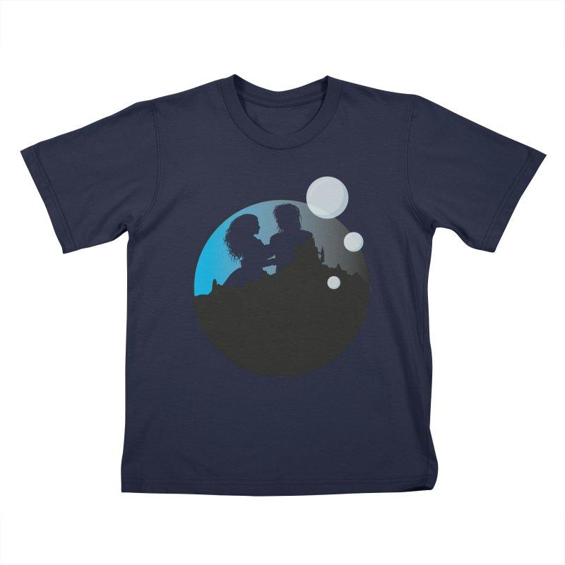 Labyrinth Kids T-Shirt by nrdshirt's Shop