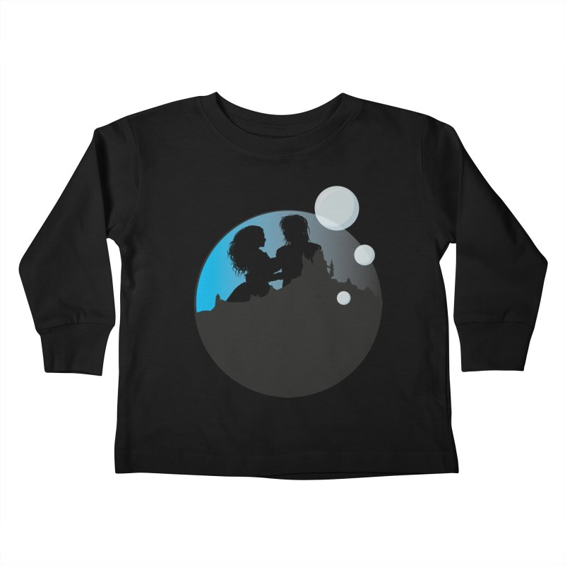 Labyrinth Kids Toddler Longsleeve T-Shirt by nrdshirt's Shop