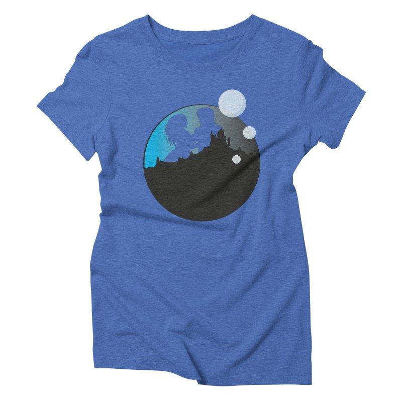 Labyrinth Women's Triblend T-Shirt by nrdshirt's Shop