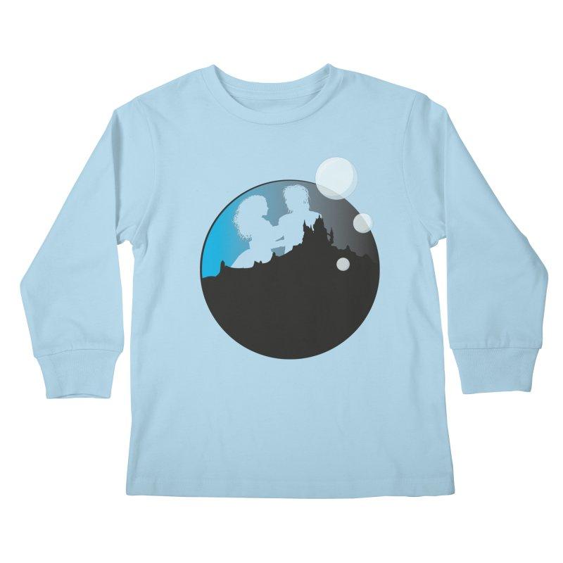 Labyrinth Kids Longsleeve T-Shirt by nrdshirt's Shop