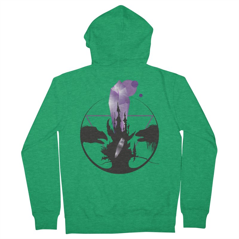 Dark Crystal Women's Zip-Up Hoody by nrdshirt's Shop