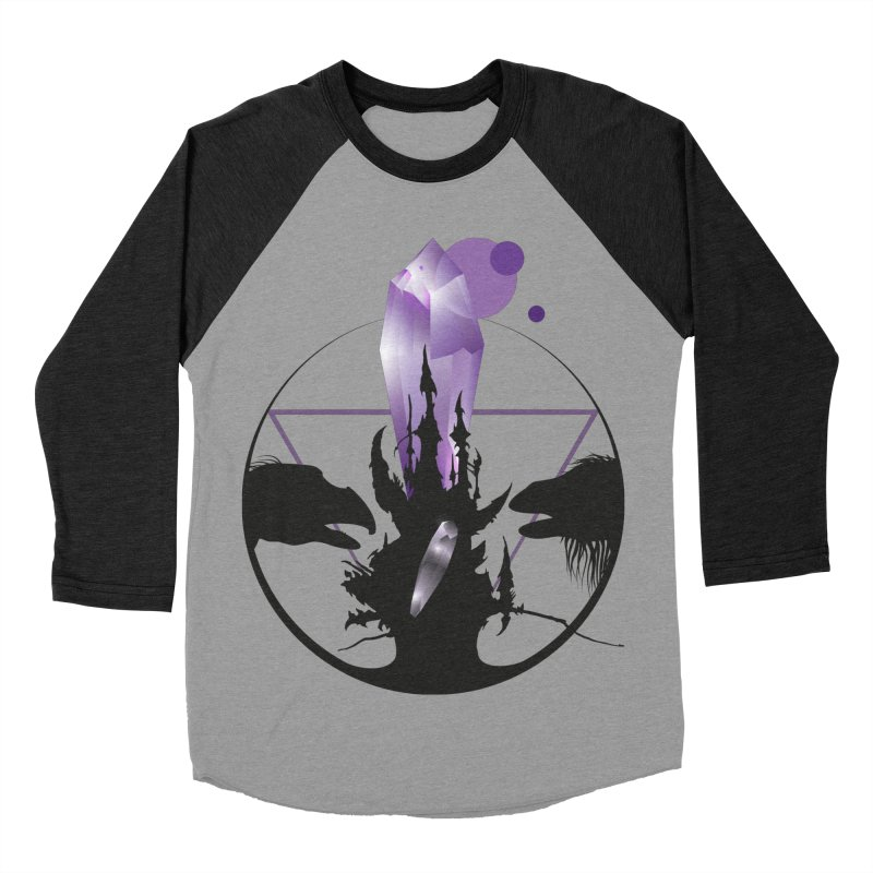 Dark Crystal Men's Baseball Triblend Longsleeve T-Shirt by nrdshirt's Shop
