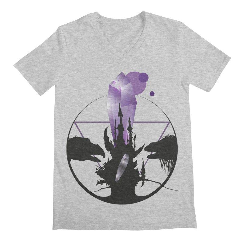 Dark Crystal Men's Regular V-Neck by nrdshirt's Shop
