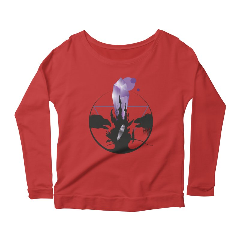 Dark Crystal Women's Scoop Neck Longsleeve T-Shirt by nrdshirt's Shop