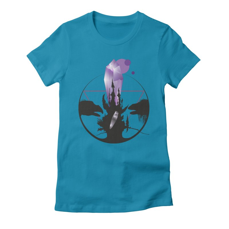 Dark Crystal Women's Fitted T-Shirt by nrdshirt's Shop