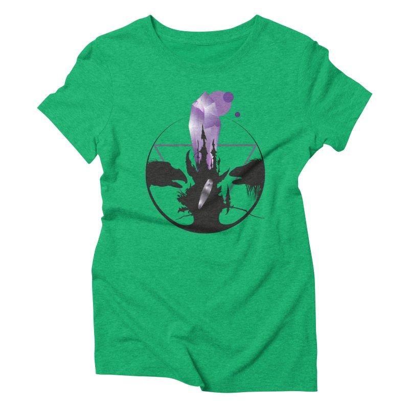 Dark Crystal Women's Triblend T-Shirt by nrdshirt's Shop