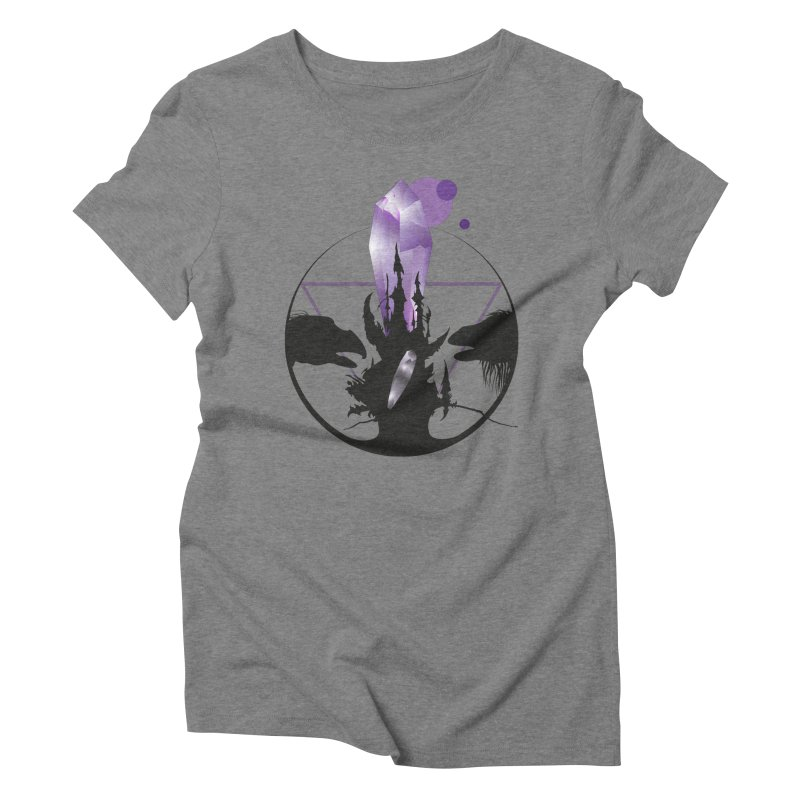 Dark Crystal Women's Triblend T-Shirt by nrdshirt's Shop