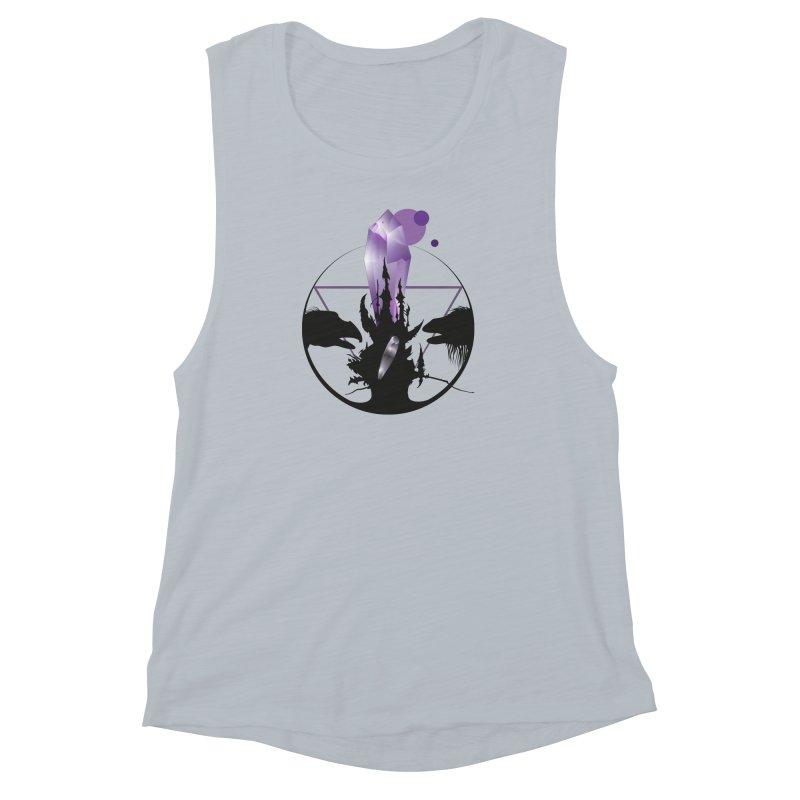 Dark Crystal Women's Muscle Tank by nrdshirt's Shop