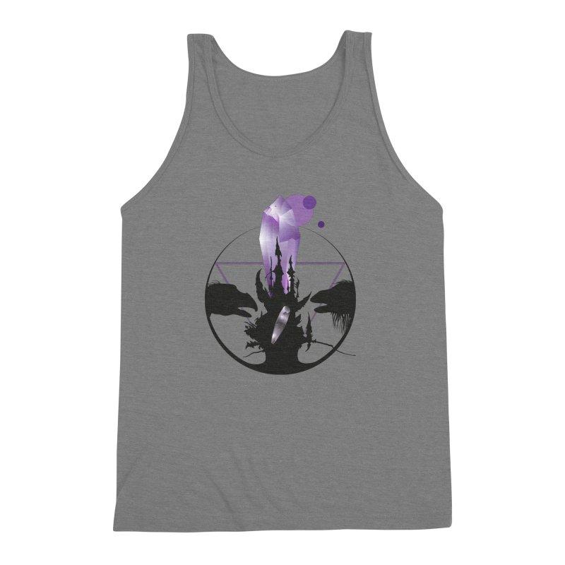 Dark Crystal Men's Triblend Tank by nrdshirt's Shop