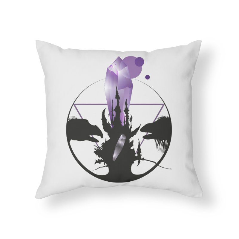 Dark Crystal Home Throw Pillow by nrdshirt's Shop