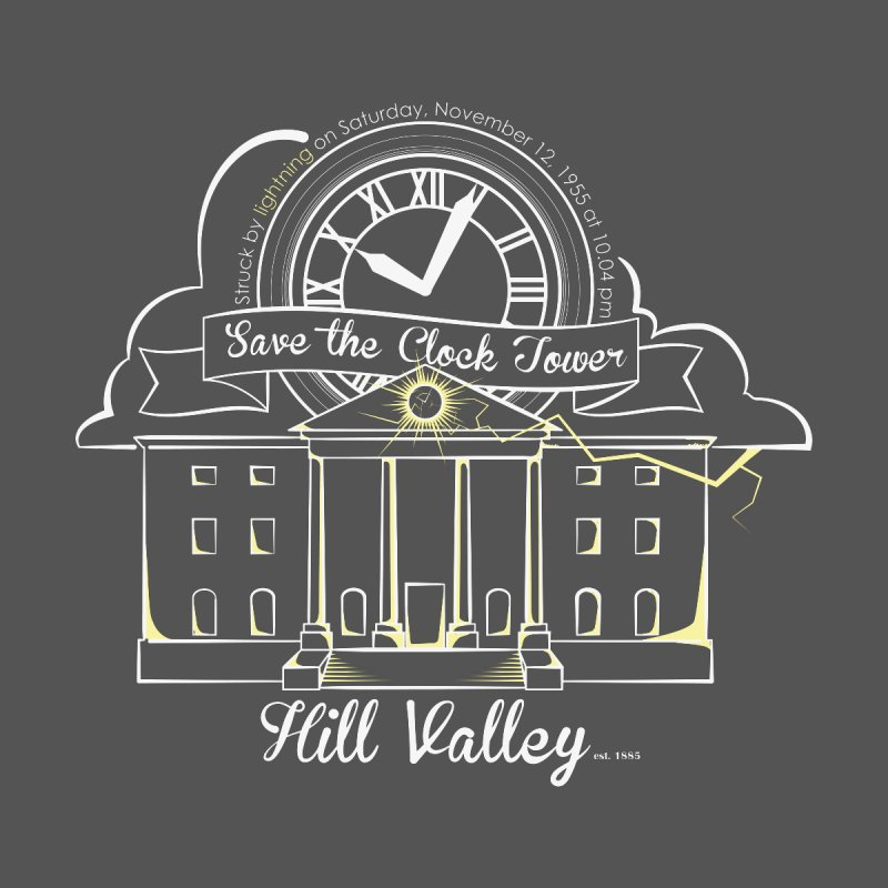 Save the clock tower v1 Men's T-shirt by nrdshirt's Shop