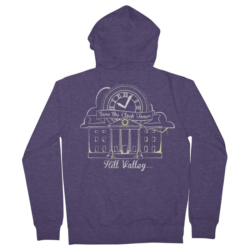 Save the clock tower v1 Men's Zip-Up Hoody by nrdshirt's Shop