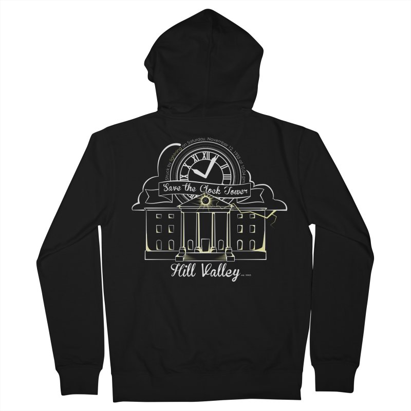 Save the clock tower v1 Men's French Terry Zip-Up Hoody by nrdshirt's Shop