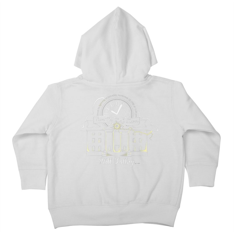 Save the clock tower v1 Kids Toddler Zip-Up Hoody by nrdshirt's Shop