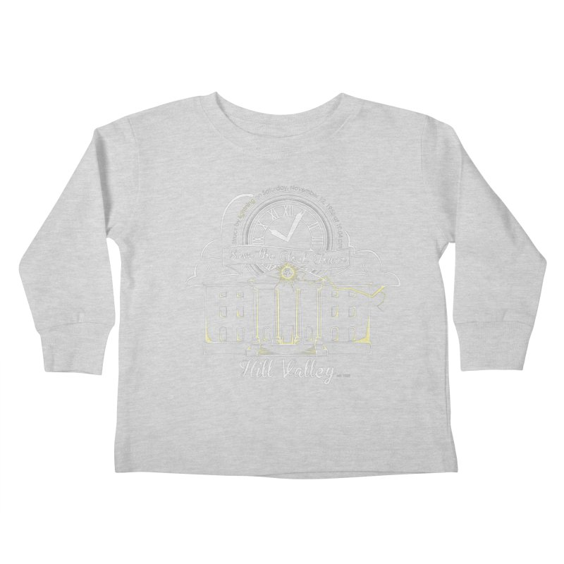 Save the clock tower v1 Kids Toddler Longsleeve T-Shirt by nrdshirt's Shop