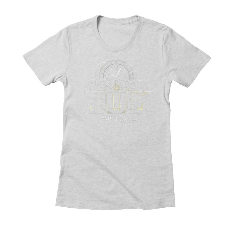 Save the clock tower v1 Women's Fitted T-Shirt by nrdshirt's Shop