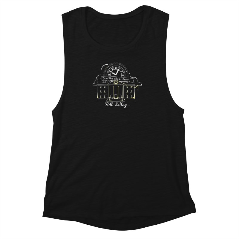 Save the clock tower v1 Women's Muscle Tank by nrdshirt's Shop