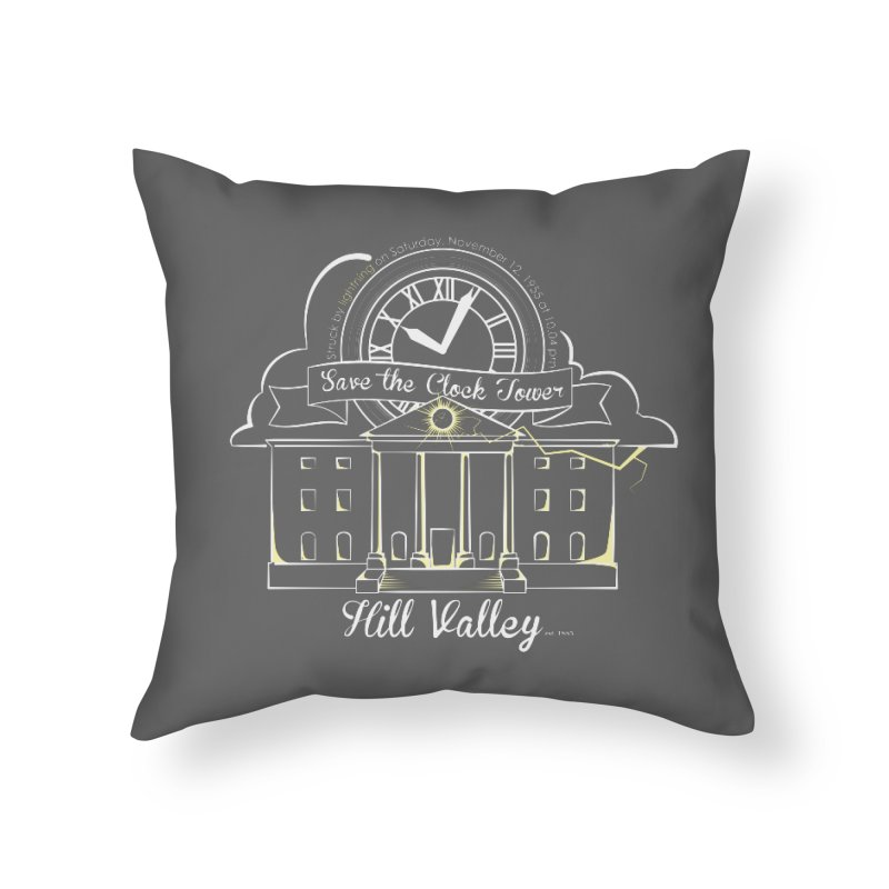 Save the clock tower v1 Home Throw Pillow by nrdshirt's Shop