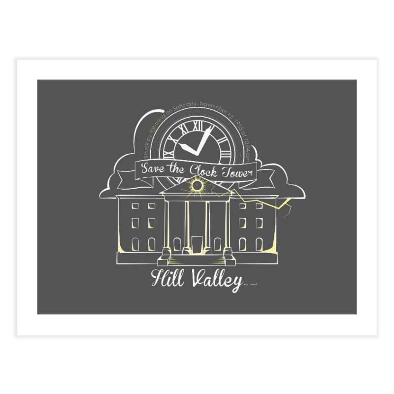 Save the clock tower v1   by nrdshirt's Shop