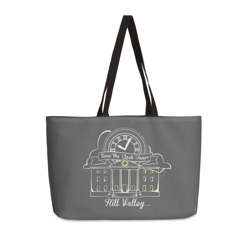 Save the clock tower v1 Accessories Weekender Bag Bag by nrdshirt's Shop