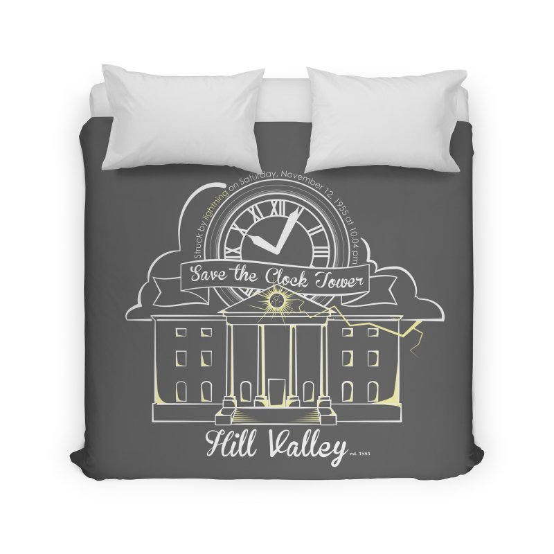 Save the clock tower v1 Home Duvet by nrdshirt's Shop