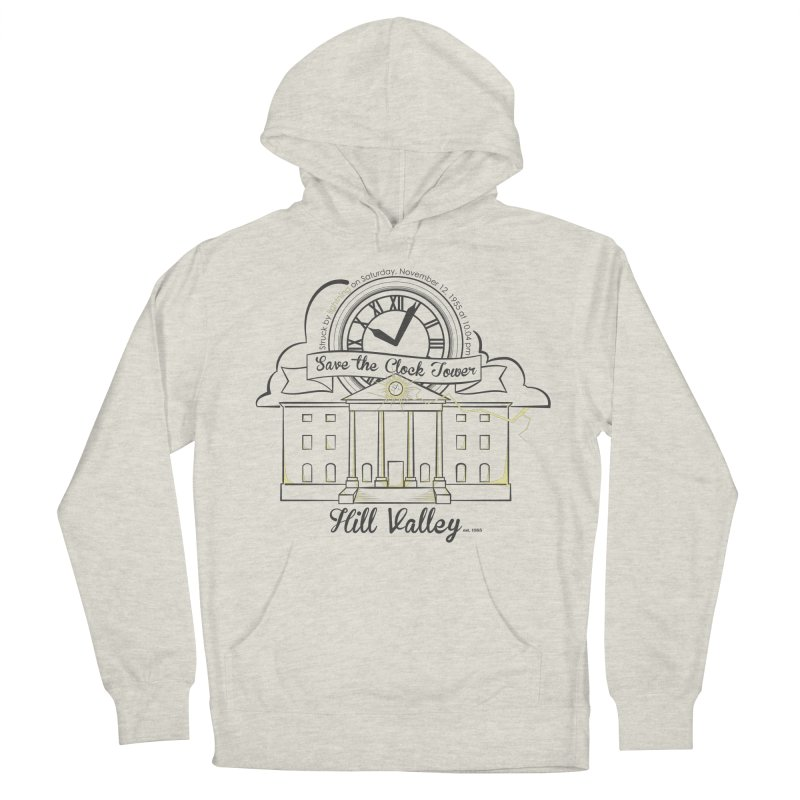 Save the clock tower v2 Men's French Terry Pullover Hoody by nrdshirt's Shop