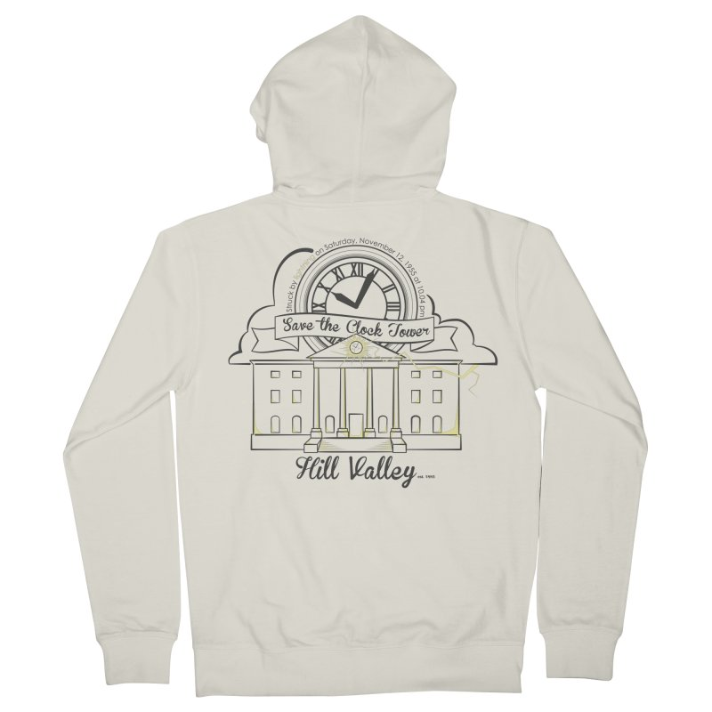 Save the clock tower v2 Men's Zip-Up Hoody by nrdshirt's Shop