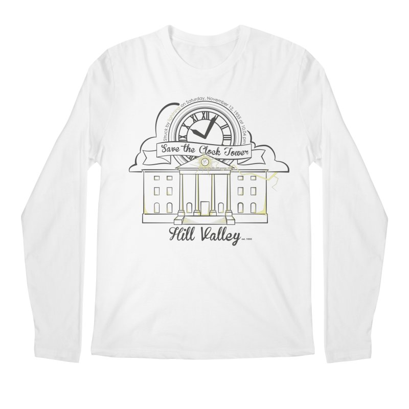 Save the clock tower v2 Men's Regular Longsleeve T-Shirt by nrdshirt's Shop