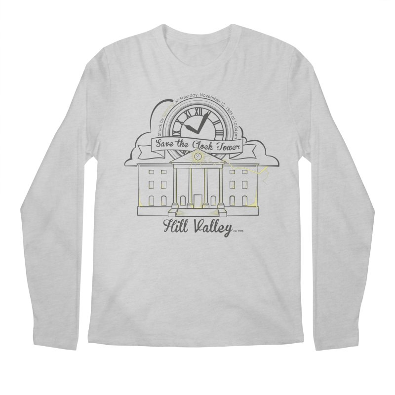 Save the clock tower v2 Men's Longsleeve T-Shirt by nrdshirt's Shop