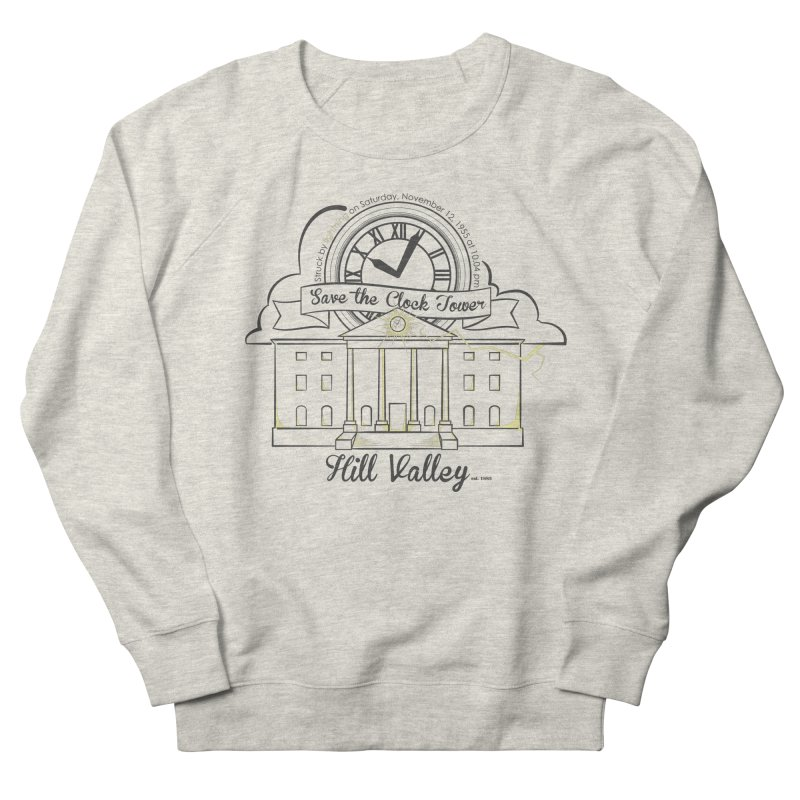 Save the clock tower v2 Men's French Terry Sweatshirt by nrdshirt's Shop