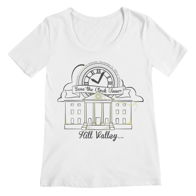 Save the clock tower v2 Women's Regular Scoop Neck by nrdshirt's Shop