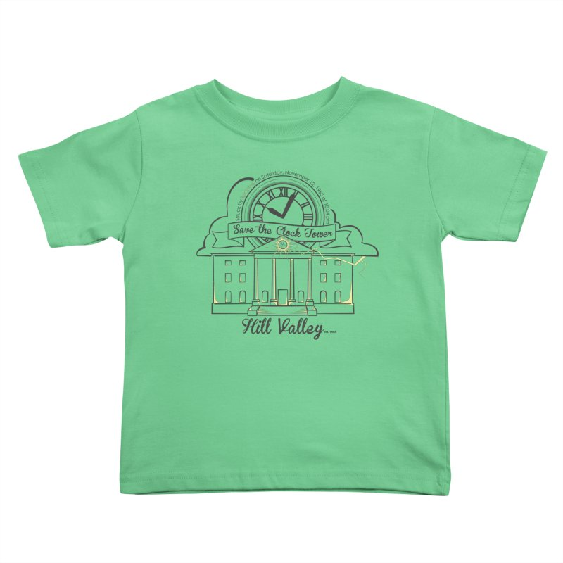 Save the clock tower v2 Kids Toddler T-Shirt by nrdshirt's Shop