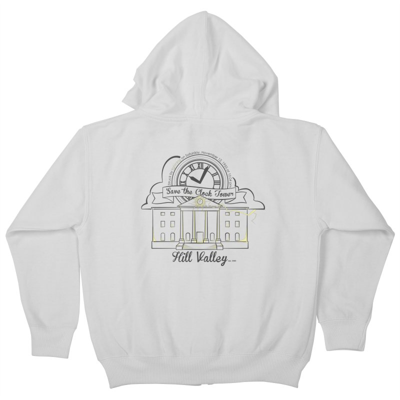 Save the clock tower v2 Kids Zip-Up Hoody by nrdshirt's Shop