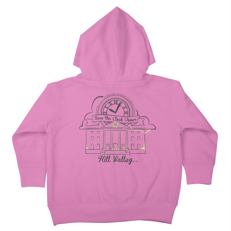 Save the clock tower v2 Kids Toddler Zip-Up Hoody by nrdshirt's Shop