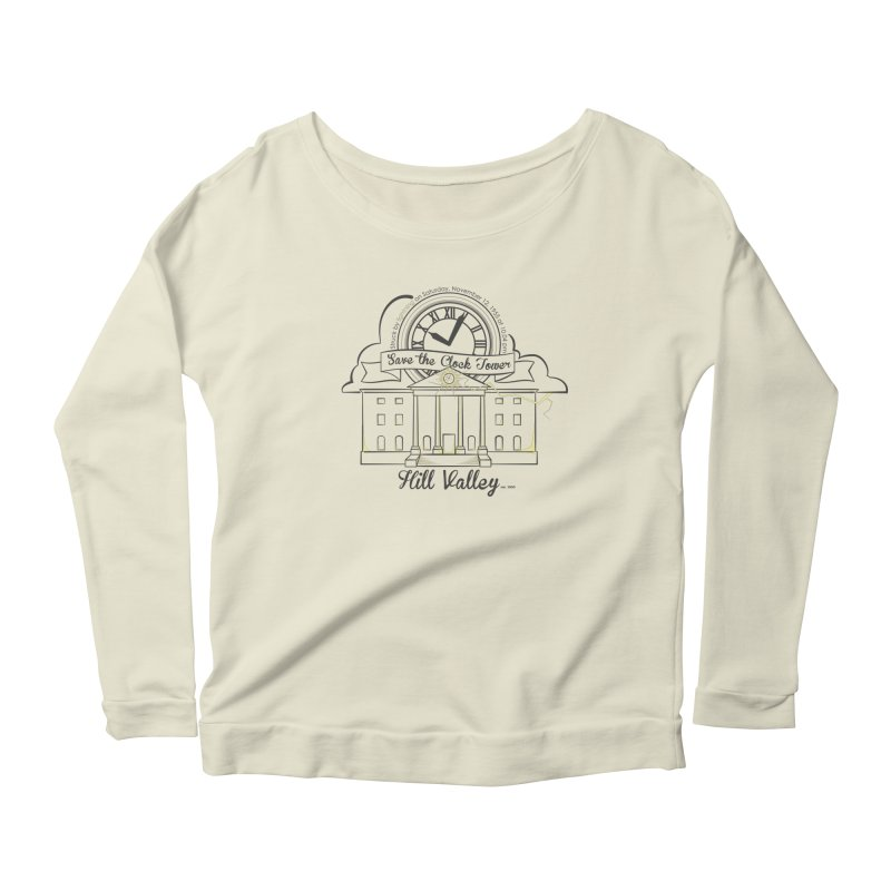 Save the clock tower v2 Women's Longsleeve Scoopneck  by nrdshirt's Shop