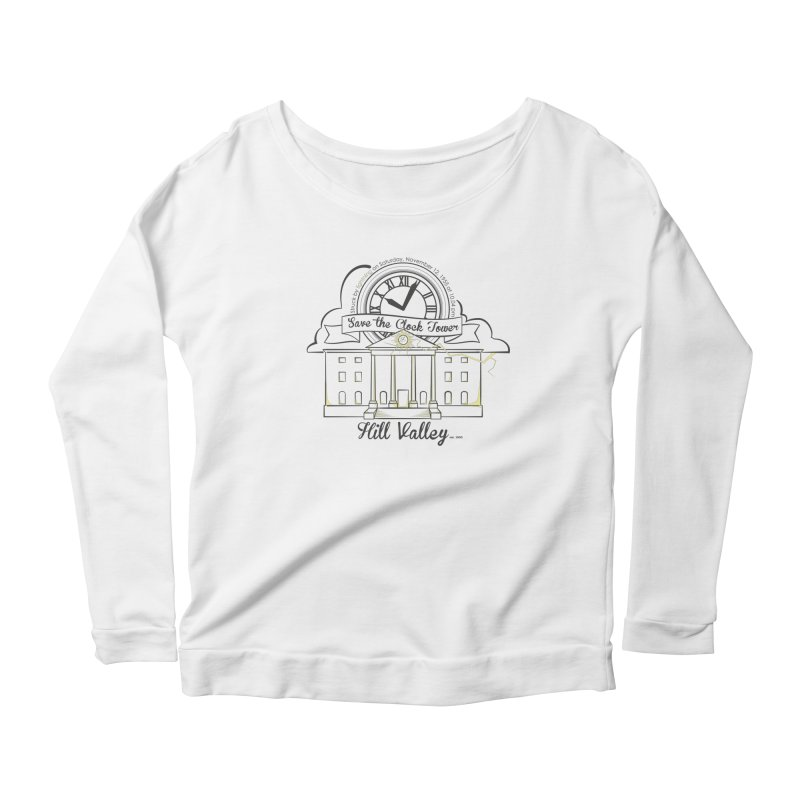 Save the clock tower v2 Women's Scoop Neck Longsleeve T-Shirt by nrdshirt's Shop