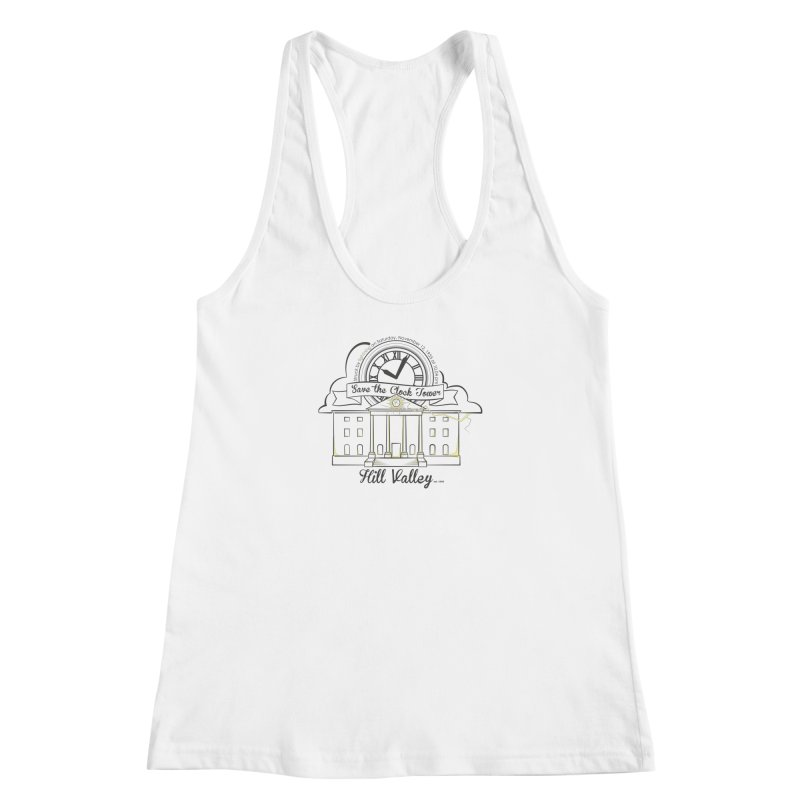 Save the clock tower v2 Women's Racerback Tank by nrdshirt's Shop