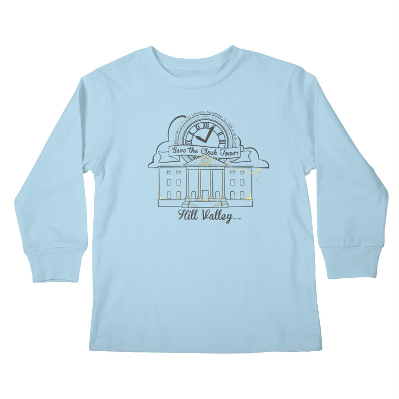 Save the clock tower v2 Kids Longsleeve T-Shirt by nrdshirt's Shop