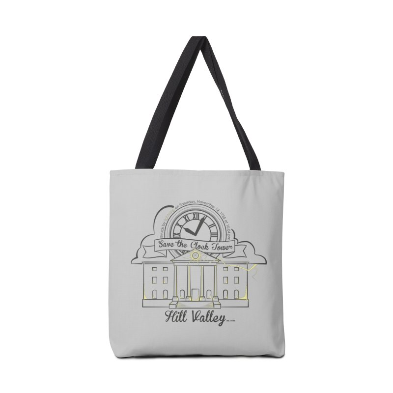 Save the clock tower v2 Accessories Bag by nrdshirt's Shop