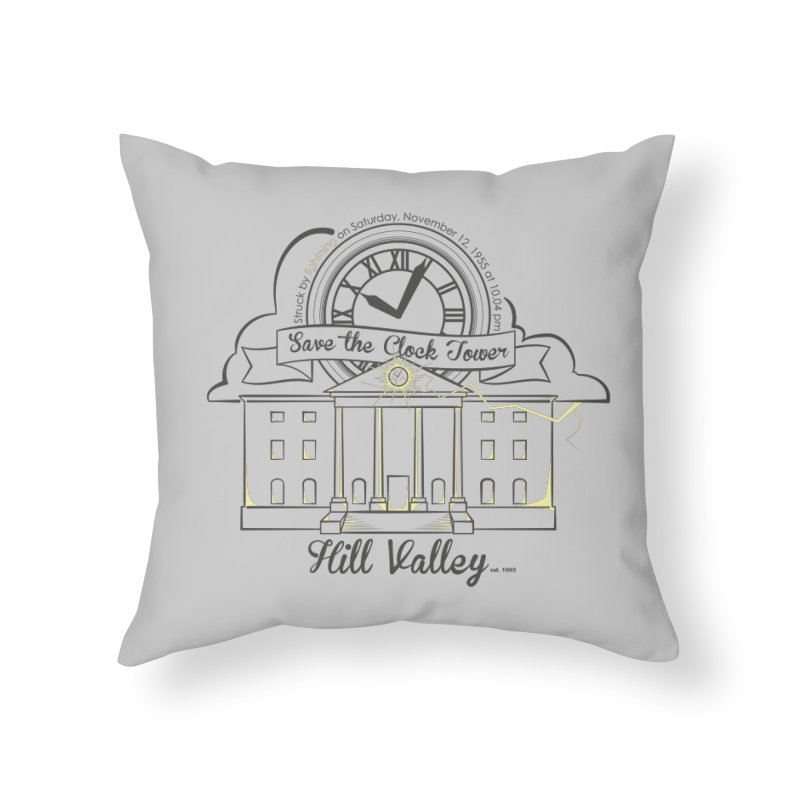 Save the clock tower v2 Home Throw Pillow by nrdshirt's Shop