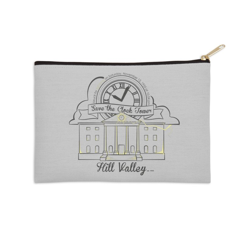 Save the clock tower v2 Accessories Zip Pouch by nrdshirt's Shop