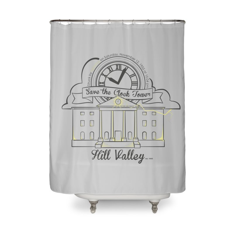 Save the clock tower v2 Home Shower Curtain by nrdshirt's Shop