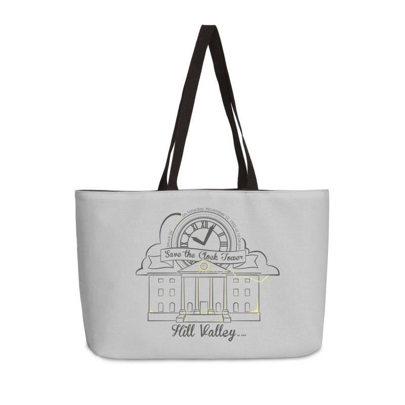 Save the clock tower v2 Accessories Weekender Bag Bag by nrdshirt's Shop