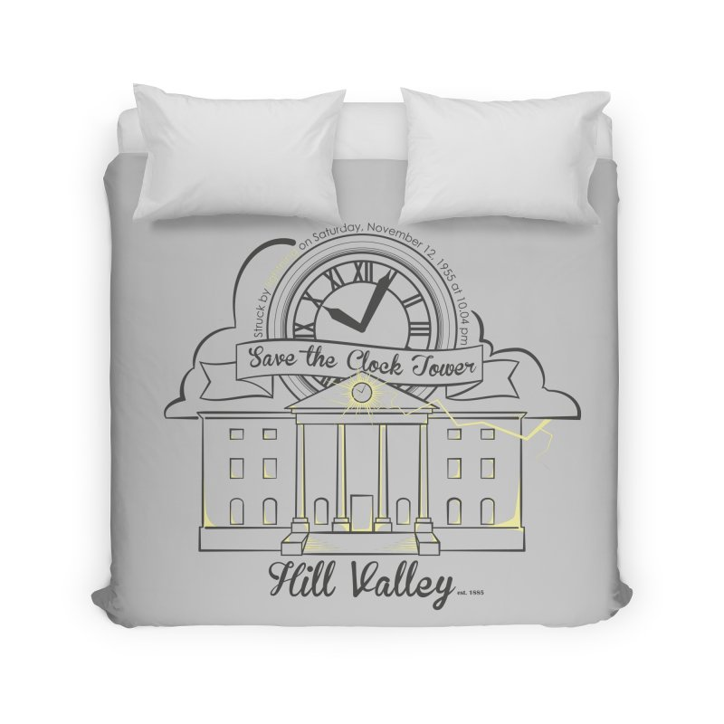 Save the clock tower v2 Home Duvet by nrdshirt's Shop