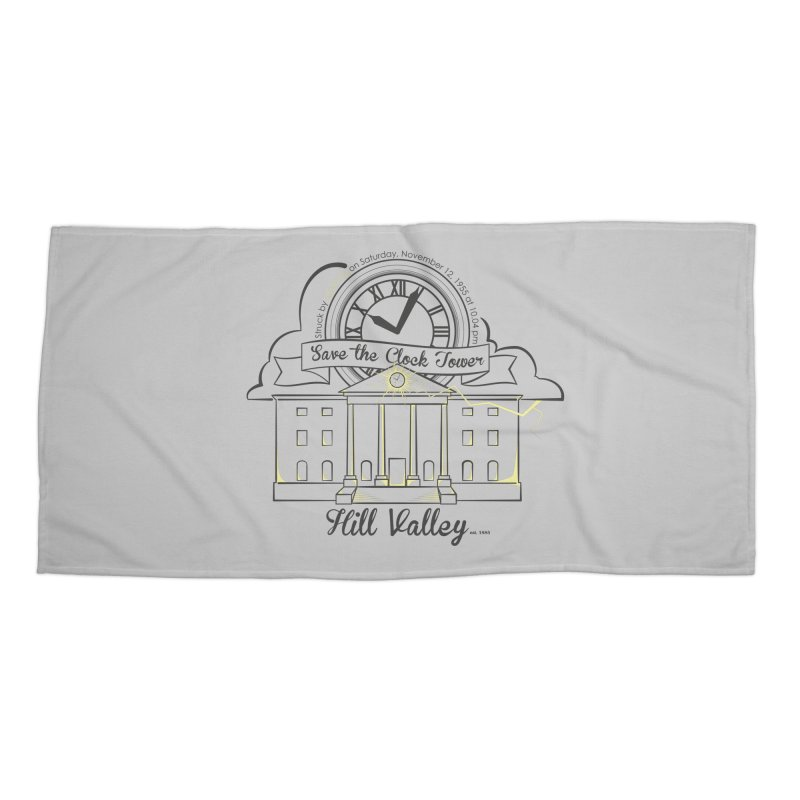 Save the clock tower v2 Accessories Beach Towel by nrdshirt's Shop